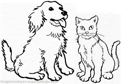 Dibujos Infantiles De Perros Y Gatos Juntos En Caricaturas Paperblog