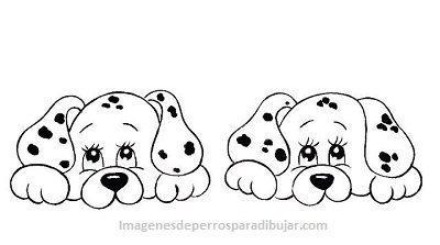 4 Bonitas Imagenes De Perritos Tiernos Para Pintar Animados Paperblog