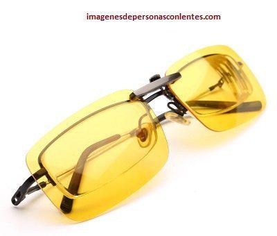 lentes ambar para manejar de noche amarillos