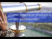 Cómo encontrar ideas productos para tienda online