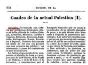 invención pueblo palestino: ¿Dónde metían palestinos 1842?