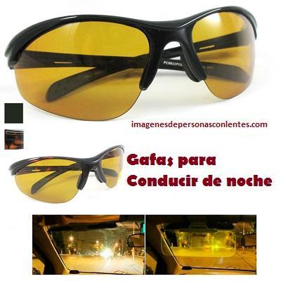 cristales amarillos para conducir de noche manejar