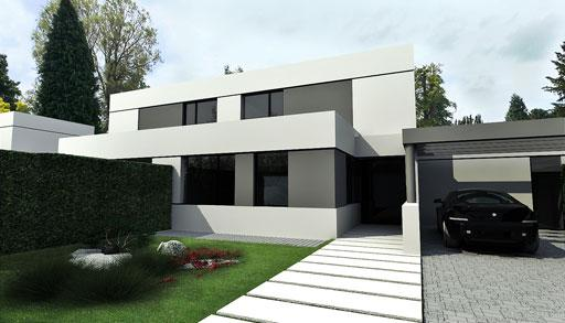 Proyecto a cero 20 chalets de dise o exclusivo en madrid for Chalet diseno