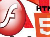 Archivos Flash convierten HTML5