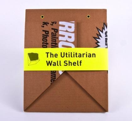 Estante de cart n plegado paperblog for Estantes de carton