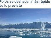 Cambio Climático: NASA advierte retroceso hielo polos