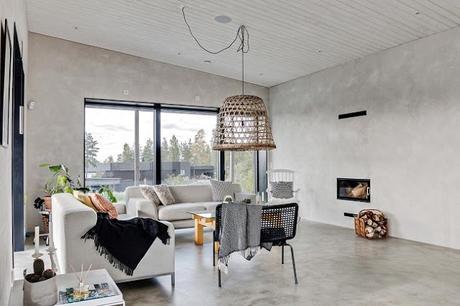 Residencia Minimalista en Kallfors