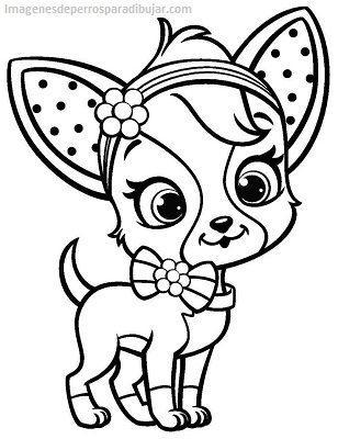 Bonitos dibujos para imprimir de perros y gatos para pintar - Paperblog