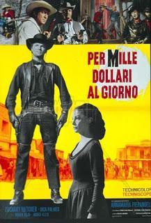 POR MIL DÓLARES AL DÍA (Per mille dollari al giorno) (Italia, España; 1968) Spaguetti Western