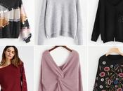 Pullover selection w/Shein