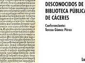 Incunables Biblioteca Pública Cáceres