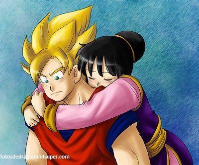 descargar imagenes de goku de amor romanticas
