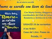 Presentación Valencia AMORE ESCRIBE LICOR LIMÓN