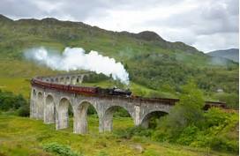 Resultado de imagen de tren y coche harry potter