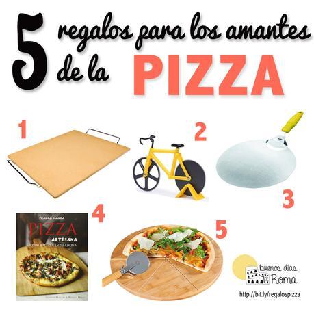 5 regalos para los amantes de la pizza