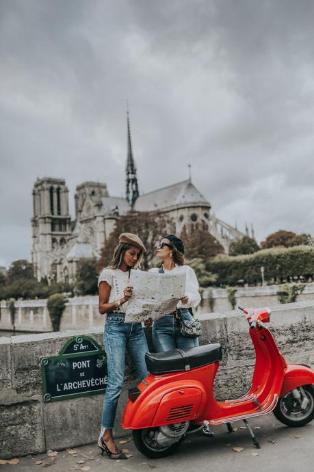 Two Girls and a Vespa