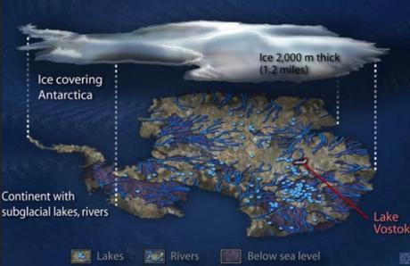 Rusia revela que la Antártida no es lo que nos están contando