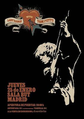 Concierto tributo a Tom Petty en Madrid con M Clan, Los Secretos, Burning, Mikel Erentxun...
