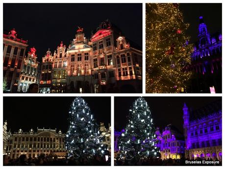 Grand Place Bruselas Noël