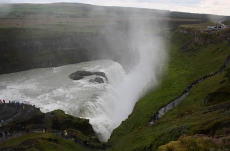 Cascada de Gullfoss Islandia por libre