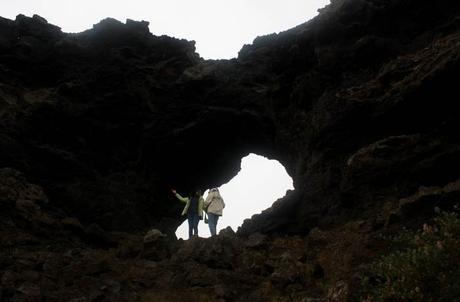 El campo de lava de Dimmuborgir Islandia por libre