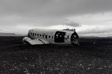 Avión abandonado de la zona de Sólheimasandur Islandia por libre