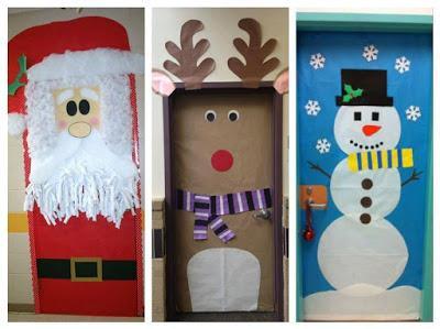 Ideas Para Decorar Puertas En Navidad.18 Ideas Espectaculares Para Decorar Puertas En Navidad