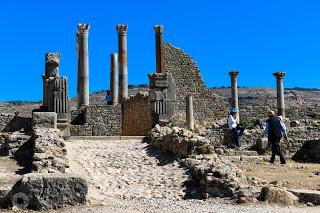 Volubilis - Viaje a Marruecos