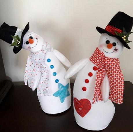 15 ideas en fieltro para Navidad