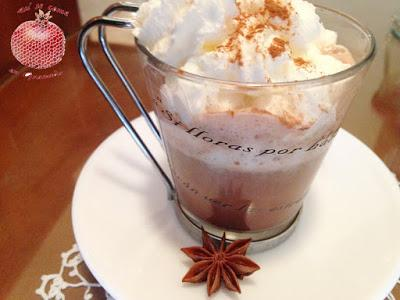 Café con chocolate a la naranja