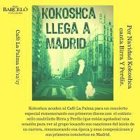 Concierto de Kokoshca en Café la Palma