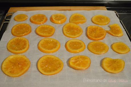 Naranjas confitadas y bañadas en chocolate - Reto #asaltablogs