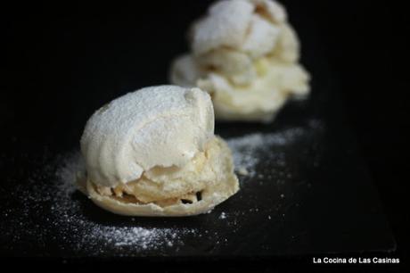Merengues rellenos de Crema de Mantequilla