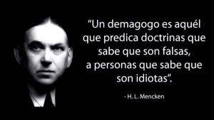 La demagogia