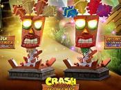 Presentada línea figuras Crash Bandicoot