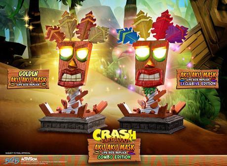 Presentada una línea de figuras de Crash Bandicoot
