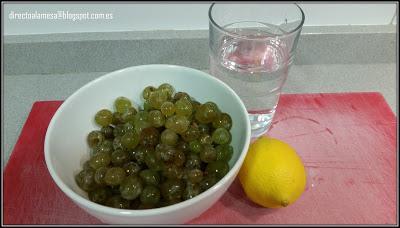 Zumo de uva natural