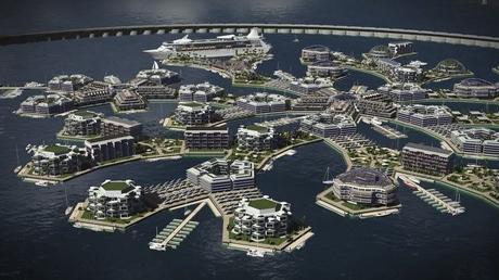 ciudad en el mar