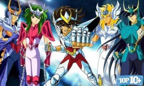 Los Caballeros del Zodiaco-entre-los-mejores-animes-de-todos-los-tiempos