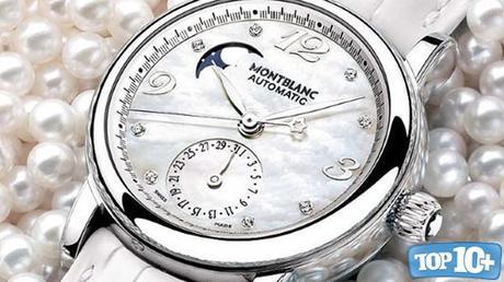 Montblanc Star Lady Automatic Moonphase Diamonds-entre-los-relojes-Montblanc-mas-caros-del-mundo