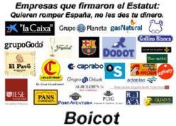 El boicot es democracia pura