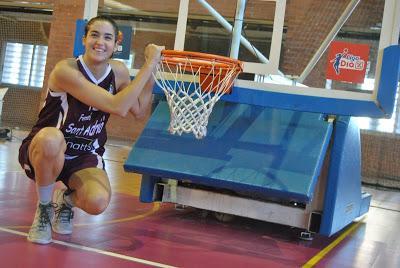 """Mireia Vila: """"El baloncesto me permite ser yo misma"""""""
