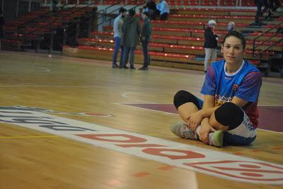 """Aleksandra Stanacev: """"Sé ayudar al equipo dentro y fuera de la pista"""""""