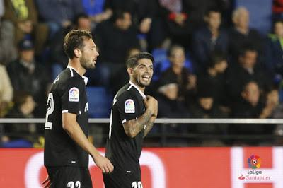 Crónica Villarreal CF 2 - Sevilla FC 3