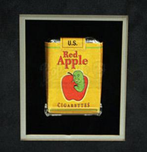 Marcas creadas para el cine - Red Apple