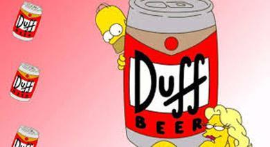 Marcas creadas para el cine - Duff