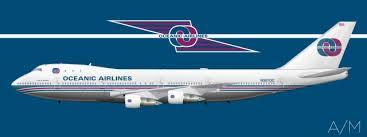 Marcas creadas para el cine - Oceanic Airlines