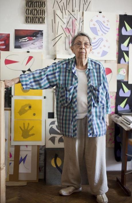 Geta Brâtescu: la rumana que ahora conquista NY luego de su paso x la Bienal de Venecia
