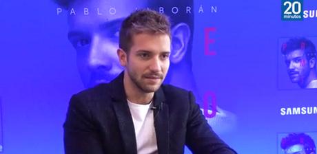 [VÍDEO] Entrevista a Pablo Alborán para 20 Minutos