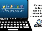 ¿Programación como materia?